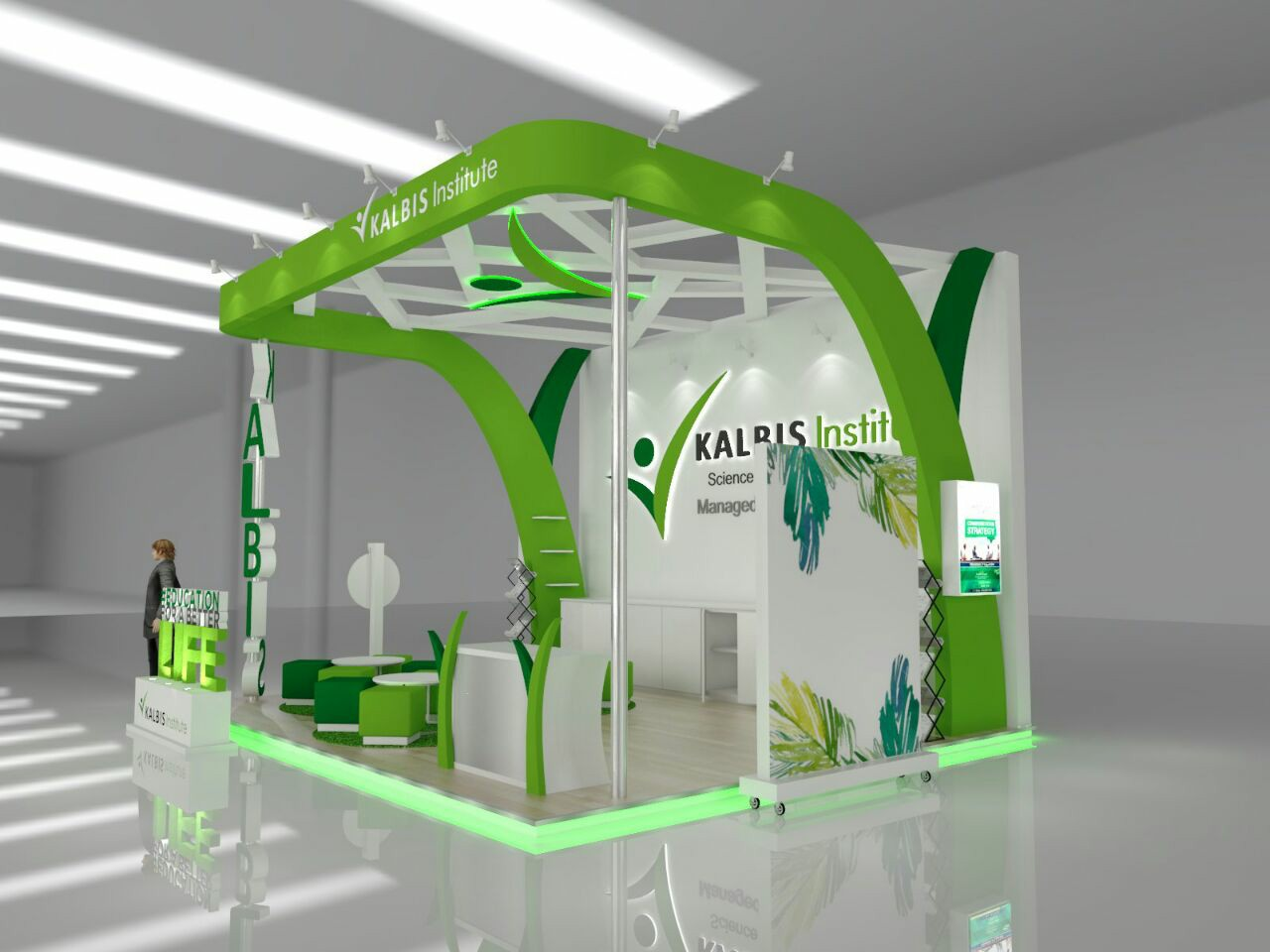 display pameran